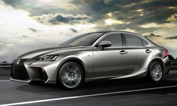 Lexus IS Facelift (2017)