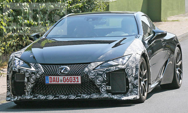 Lexus Lc F 2019 Erste Fotos Autozeitung De