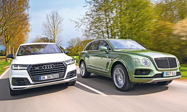 Audi SQ7/Bentley Bentayga