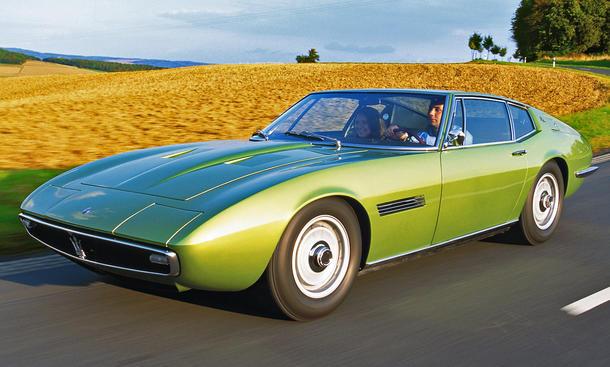 Maserati Ghibli: Classic Cars
