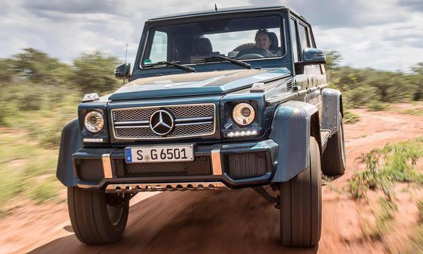 mercedes-maybach g 650 landaulet (2017): erste fahrt | autozeitung.de