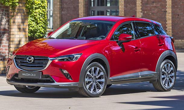 Mazda Cx 3 Facelift 2020 Preis Sports Line Autozeitung De
