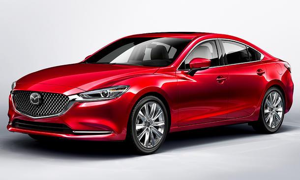 Mazda6 Facelift (2018)