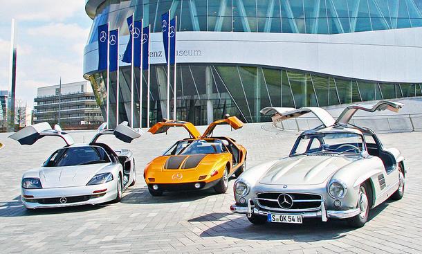 Mercedes 300 SL/C111/C112: Classic Cars