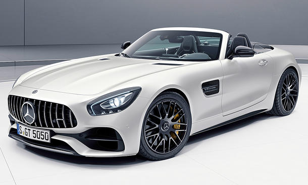 Mercedes-AMG GT C Roadster Edition 50 (2017)