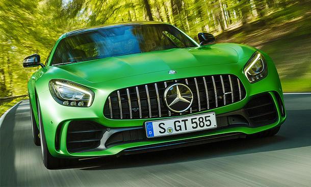 Mercedes S Class Green