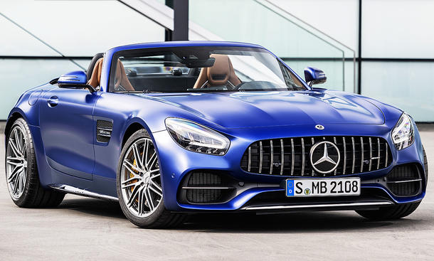 Mercedes-AMG GT Roadster Facelift (2018)