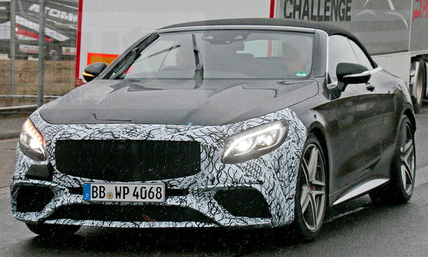 Mercedes-AMG S 63 Cabrio Facelift (2017)
