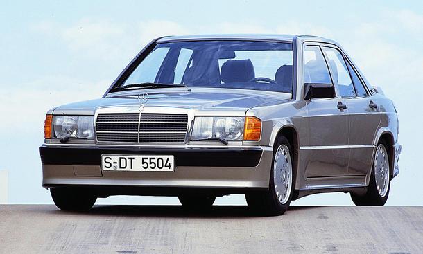 Mercedes 190 E 2.3-16 mit M102 E 23/2