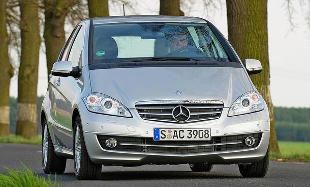 Mercedes A-Klasse Facelift (2008)