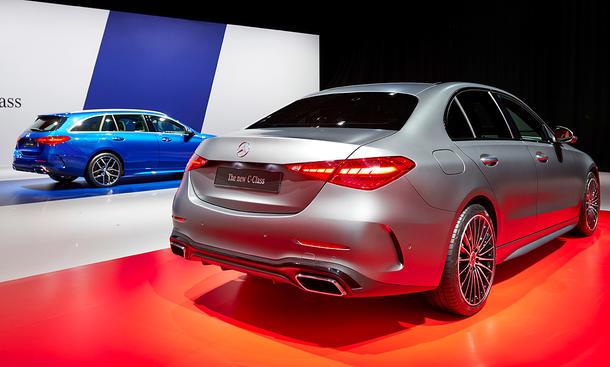 Mercedes C-Klasse T-Modell (2021): Kofferraumvolumen ...