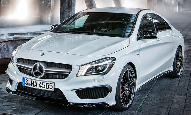 Mercedes CLA 45 AMG 4Matic (2013)