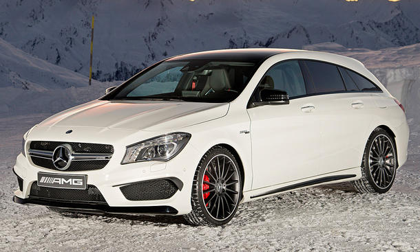 Mercedes CLA 45 AMG Shooting Brake (2015)