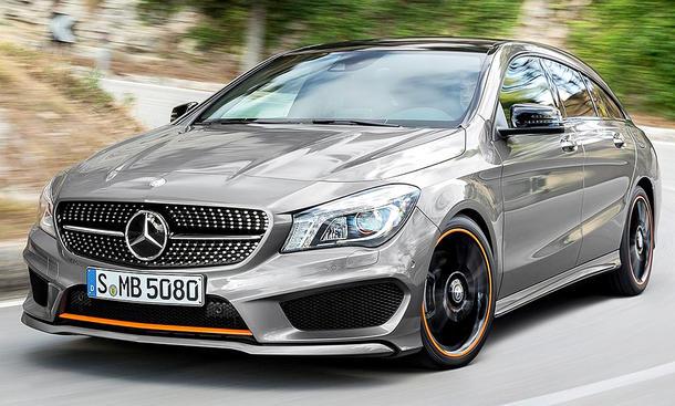 Mercedes CLA Shooting Brake (2015)
