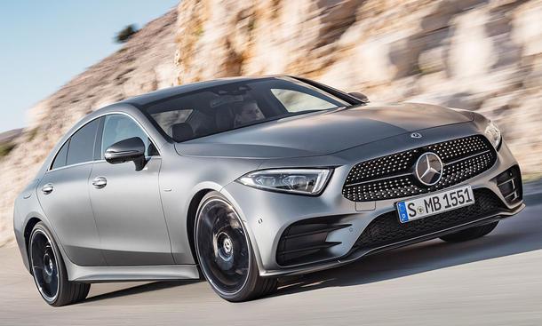Mercedes stellt neuen CLS vor