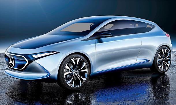 2020 - [Mercedes-Benz] EQ A Mercedes-e-qa