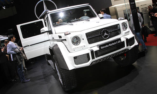 Mercedes-Maybach G 650 Landaulet (2017)