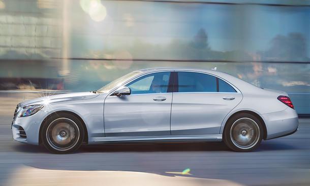 Mercedes S-Klasse Facelift (2017)