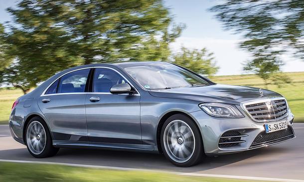 Neues Mercedes S-Klasse Facelift (2017)