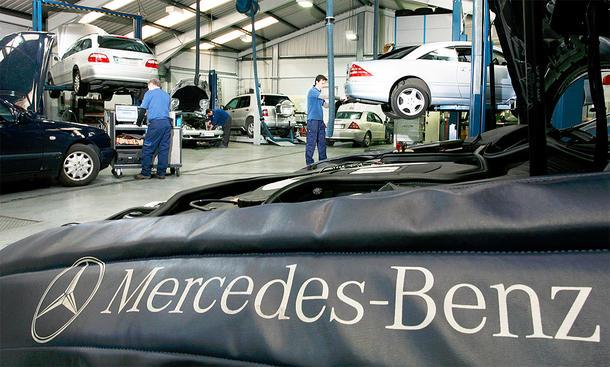 Mercedes Werkstatt