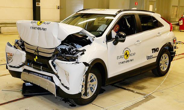 Mitsubishi Eclipse Cross (2017) im Crashtest