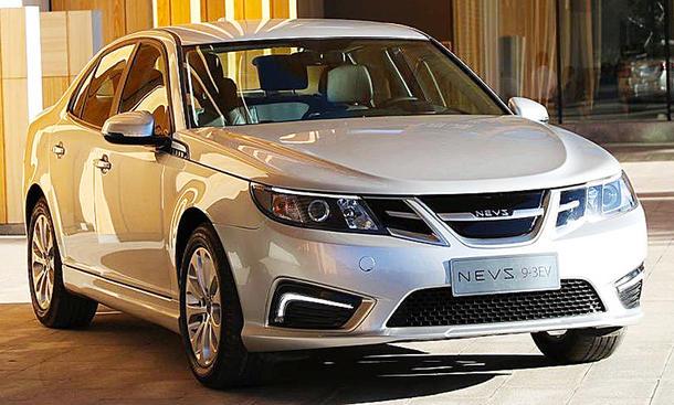 Saab-Nachfolger NEVS 9-3 EV (2019)
