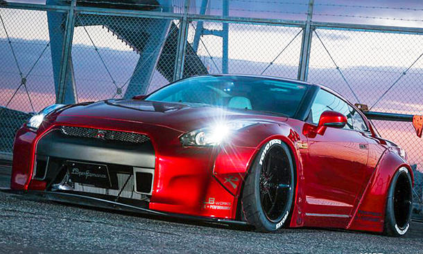 Nissan GT-R von Liberty Walk