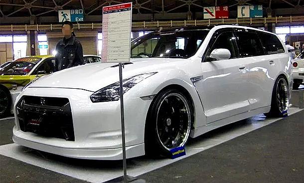 Nissan Stagea als GT-R
