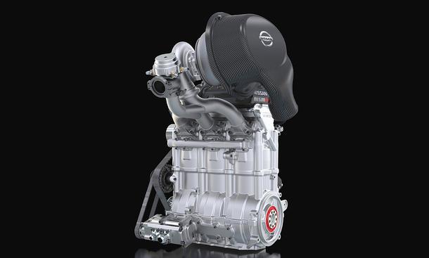 Dreizylinder-Turbomotor mit 400 PS von Nissan