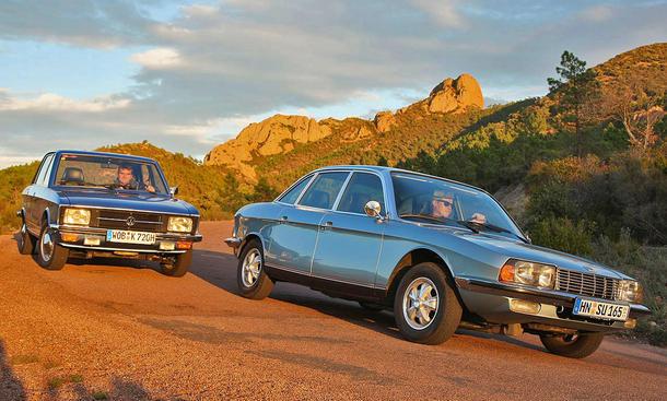 NSU Ro 80 und VW K 70: Classic Cars