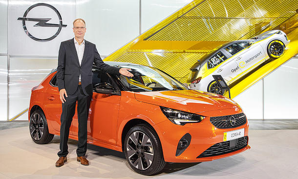 """Strategie """"Opel wird elektrisch"""""""