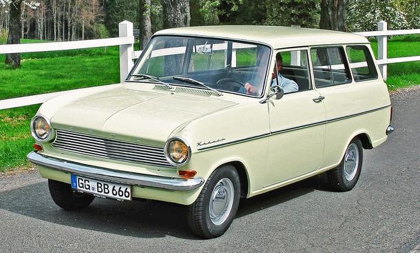Opel Kadett A Caravan S:Classic Cars