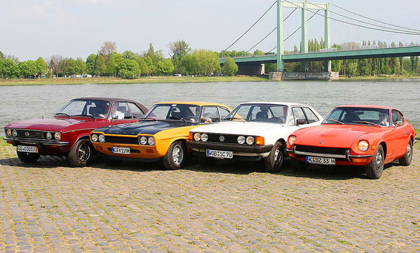 240Z/Manta/Capri/Scirocco: Classic Cars