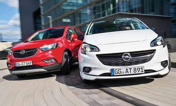 Opel Mokka X/Opel Corsa