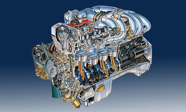 Motorentechnik: Der Opel Vierventil-Sechszylinder