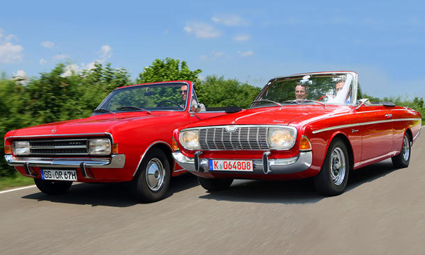 Opel Rekord C/Ford 20M TS: Classic Cars
