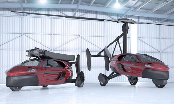 Fliegen ab 2018 die ersten Autos auf der Straße?