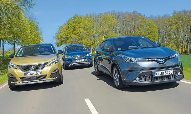 Peugeot 3008/Seat Ateca/Toyota C-HR