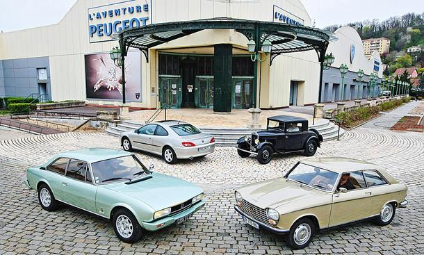 Peugeot 201, 204, 504 & 406
