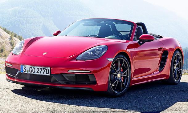 Porsche 718 Boxster GTS (2017)