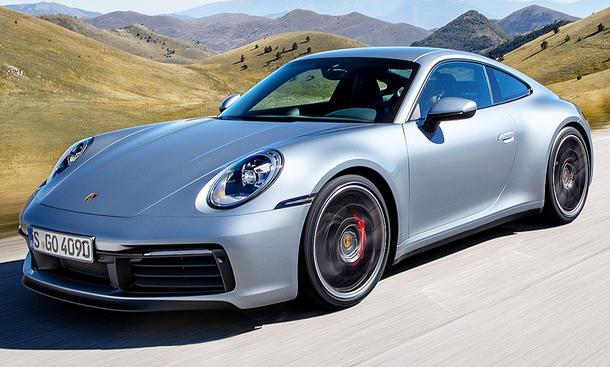 Porsche 911 Typ 992 2019 Technische Daten
