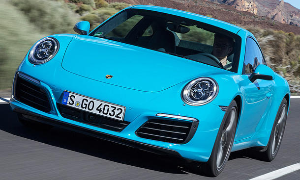 Porsche 911 Facelift (2015)
