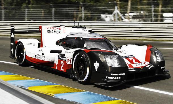 Porsche 919 #2 Le Mans 2017