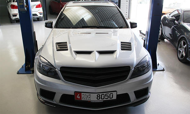 Mercedes C 63 AMG von PP Performance