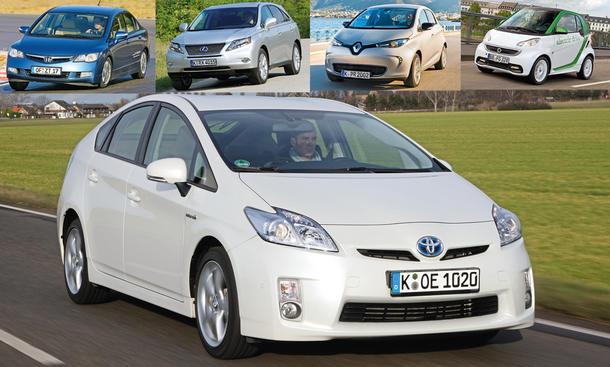 Prius, Civic, Zoe, RX450h, Fortwo