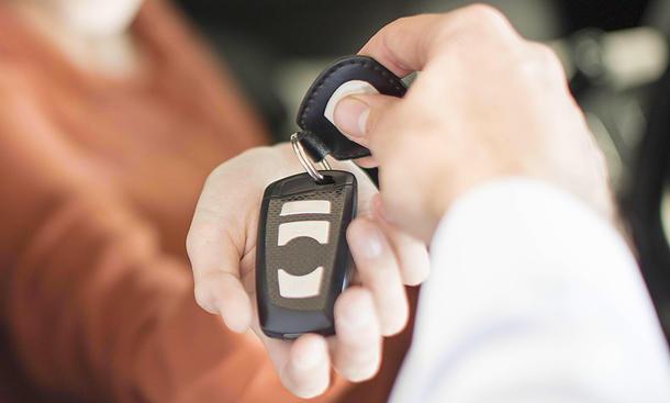 Gebrauchtwagen-Kauf: Probefahrt
