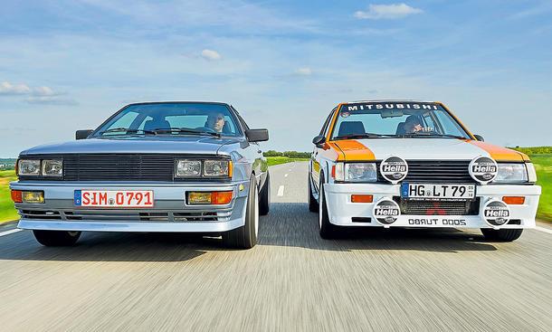 Lancer vs Quattro – Rallye-Stars von gestern