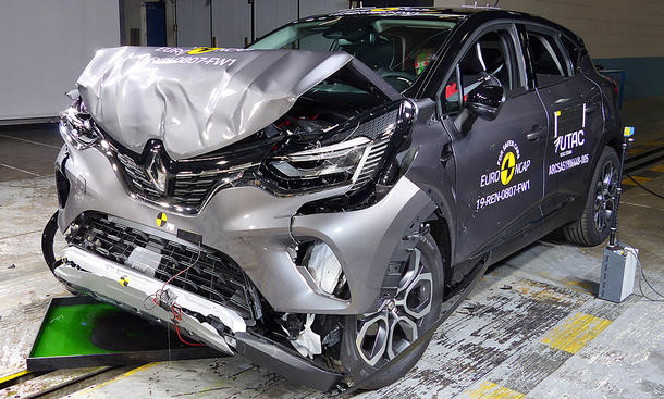 Renault Captur (2019): Crashtest
