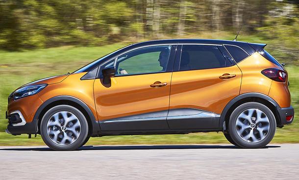 Neues Renault Captur Facelift (2017)