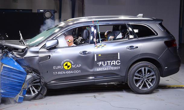 Renault Koleos im Crashtest